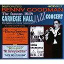 Artist Name: G - グッドマン〜ザ・フェイマス・1938・カーネギー・ホール・ジャズ・コンサート[CD] / グッドマン、ベニー