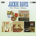 Artist Name: J - デイビス 〜ファイブ・クラシック・アルバムズ[CD] / ジャッキー・デイビス