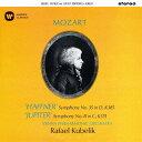 作曲家名: Ra行 - モーツァルト: 交響曲第35番「ハフナー」、第41盤「ジュピター」 [UHQCD][CD] / ラファエル・クーベリック (指揮)