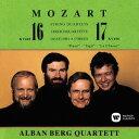 作曲家名: A行 - モーツァルト: 弦楽四重奏曲第16番、第17番 [UHQCD][CD] / アルバン・ベルク四重奏団