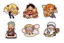 【メガハウス】ラバーマスコット もぐもぐ ONE PIECE ワンピース サンジのキッチン -ブランチ- BOX[グッズ]