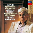 Composer: Ha Line - ハイドン: 交響曲 第100番「軍隊」・第104番「ロンドン」 [SHM-CD][CD] / フランス・ブリュッヘン (指揮)