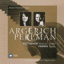 作曲家名: A行 - ベートーヴェン: ヴァイオリン・ソナタ 第9番 他 [UHQCD][CD] / イツァーク・パールマン
