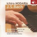 Composer: Na Line - J.S.バッハ: インベンションとシンフォニア[CD] / 野平一郎