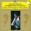 作曲家名: Ka行 - ブラームス: 交響曲第3番&第4番 [SHM-CD][CD] / クラウディオ・アバド (指揮)