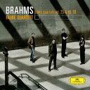 作曲家名: Ha行 - ブラームス: ピアノ四重奏曲第1番・第3番 [SHM-CD][CD] / フォーレ四重奏団