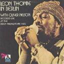 艺人名: L - イン・ベルリン [完全限定生産][CD] / レオン・トーマス with オリヴァー・ネルソン