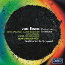 作曲家名: Ha行 - アイネム: フィラデルフィア交響曲 他[CD] / フランツ・ヴェルザー=メスト(指揮)/ウィーン・フィルハーモニー管弦楽団