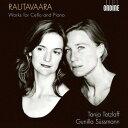 Composer: Ta Line - ラウタヴァーラ: チェロとピアノのための作品集[CD] / ターニャ・テツラフ(チェロ)、グニッラ・シュスマン(ピアノ)