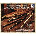 作曲家名: A行 - ヘンデル: 木管楽器のためのソナタ全集 [SHM-CD][CD] / 有田正広