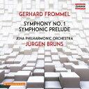 Composer: Ya Line - フロンメル: 交響曲 第1番 他[CD] / ユルゲン・ブルンス(指揮)/イエナ・フィルハーモニー管弦楽団