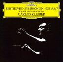 作曲家名: Ka行 - ベートーヴェン: 交響曲第5番「運命」・第7番 [MQA/UHQCD] [生産限定盤][CD] / カルロス・クライバー (指揮)/ウィーン・フィルハーモニー管弦楽団