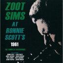 艺人名: Z - アット・ロニー・スコッツ1961ザ・コンプリート・レコーディングス [完全限定生産][CD] / ズート・シムズ