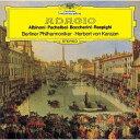 作曲家名: Ha行 - アルビノーニのアダージョ/パッヘルベルのカノン [SHM-CD][CD] / ヘルベルト・フォン・カラヤン (指揮)/ベルリン・フィルハーモニー管弦楽団