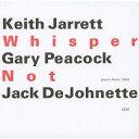Artist Name: K - ウィスパー・ノット [UHQCD] [限定盤][CD] / キース・ジャレット・トリオ