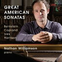 作曲家名: Na行 - アメリカの偉大なソナタ集[CD] / ネイサン・ウィリアムソン (ピアノ)