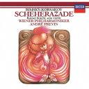作曲家名: A行 - リムスキー=コルサコフ: 交響組曲「シェヘラザード」 [SHM-CD][CD] / アンドレ・プレヴィン (指揮)/ウィーン・フィルハーモニー管弦楽団