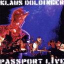 パスポート・ライヴ[CD] / クラウス・ドルディンガー