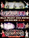 Hello! Project 2008 Winter LIVE DVD-BOX [初回限定生産][DVD] / Hello! Project