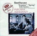 ベートーヴェン: ヴァイオリン・ソナタ《春》《クロイツェル》 / イツァーク・パールマン(Vn)/ヴラディーミル・アシュケナージ(Pf)