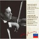 モーツァルト: ヴァイオリン協奏曲集 [限定盤][CD] / アルテュール・グリュミオー (ヴァイオリン)