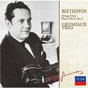 Composer: Ka Line - ベートーヴェン: 弦楽三重奏曲第2番-第4番 [限定盤][CD] / グリュミオー・トリオ