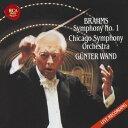 作曲家名: Ka行 - ブラームス: 交響曲第1番 (CSO) & シューベルト: 交響曲第8番「未完成」 (NDR)[CD] / ギュンター・ヴァント
