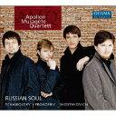 作曲家名: A行 - ロシアの魂[CD] / アポロン・ミューザゲート・クァルテット