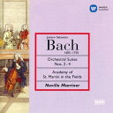 作曲家名: Na行 - J.S.バッハ: 管弦楽組曲第2番、第3番&第4番[CD] / ネヴィル・マリナー (指揮)