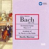 J.S.バッハ: 管弦楽組曲第2番、第3番&第4番[CD] / ネヴィル?マリナー (指揮)