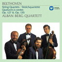 作曲家名: A行 - ベートーヴェン: 弦楽四重奏曲第12番&第16番[CD] / アルバン・ベルク四重奏団