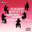 作曲家名: A行 - シューベルト: 弦楽五重奏曲[CD] / アルバン・ベルク四重奏団