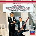 モーツァルト: クラリネット協奏曲、バスーンとチェロのためのソナタ、バスーン協奏曲 [SHM-CD][CD] / サー・ネヴィル・マリナー (指揮)/アカデミー・オブ・セント・マーティン・イン・ザ・フィールズ - CD&DVD NEOWING