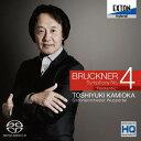 作曲家名: Ka行 - ブルックナー: 交響曲第4番「ロマンティック」 (ハース版) [HQ-Hybrid CD][SACD] / 上岡敏之 (指揮)、ヴッパータール交響楽団
