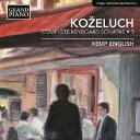 作曲家名: Ka行 - レオポルド・コジェルフ: ピアノ・ソナタ全集 第3集[CD] / ケンプ・イングリッシュ (ピアノ)