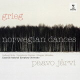 グリーグ: ノルウェー舞曲集 (管弦楽作品集)[CD] / パーヴォ?ヤルヴィ (指揮)