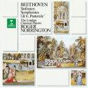 作曲家名: Ra行 - ベートーヴェン: 交響曲第1番&第6番「田園」[CD] / ロジャー・ノリントン (指揮)