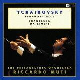 チャイコフスキー: 交響曲第5番&「フランチェスカ?ダ?リミニ」[CD] / リッカルド?ムーティ (指揮)