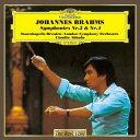 作曲家名: Ka行 - ブラームス: 交響曲第3番&第4番[CD] / クラウディオ・アバド (指揮)
