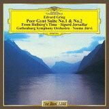 グリーグ: 「ペール?ギュント」組曲第1番?第2番 他[CD] / ネーメ?ヤルヴィ (指揮)/エーテボリ交響楽団