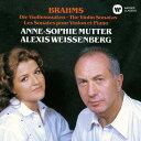 作曲家名: A行 - ブラームス: ヴァイオリン・ソナタ (全曲)[CD] / アンネ=ゾフィー・ムター (ヴァイオリン)