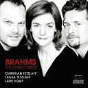 Composer: Ka Line - ブラームス: ピアノ三重奏曲集[CD] / クリスティアン・テツラフ (ヴァイオリン)/ターニャ・テツラフ (チェロ)/ラルス・フォークト (ピアノ)