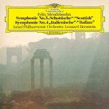 メンデルスゾーン: 交響曲第3番「スコットランド」?第4番「イタリア」 [SHM-CD] [初回プレス限定盤][CD] / レナード?バーンスタイン (指揮)