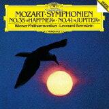 モーツァルト: 交響曲第35番「ハフナー」?第41番「ジュピター」 [SHM-CD] [初回プレス限定盤][CD] / レナード?バーンスタイン (指揮)