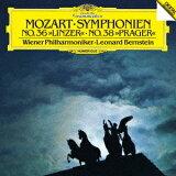 モーツァルト: 交響曲第36番「リンツ」?第38番「プラハ」 [SHM-CD] [初回プレス限定盤][CD] / レナード?バーンスタイン (指揮)