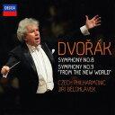 作曲家名: A行 - ドヴォルザーク: 交響曲第8番&第9番「新世界より」 [SHM-CD][CD] / イルジー・ビエロフラーヴェク (指揮)/チェコ・フィルハーモニー管弦楽団