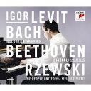 作曲家名: A行 - 変奏曲の世界 (バッハ、ベートーヴェン、ジェフスキ) [Blu-spec CD2][CD] / イゴール・レヴィット