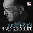 作曲家名: Na行 - ベートーヴェン: 交響曲第4番&第5番「運命」 [Blu-spec CD2][CD] / ニコラウス・アーノンクール