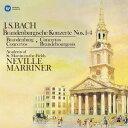 バッハ: ブランデンブルク協奏曲第1番〜第4番[CD] / ネヴィル・マリナー (指揮)/アカデミー室内管弦楽団