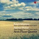Composer: A Line - シューマン&ブラームス 第1番 ピアノ四重奏曲[CD] / アヴォス・ピアノ・カルテット
